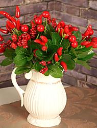 Hi-Q 1Pc Decorative Flower Fruit Wedding Home Table Decoration Artificial Flowers