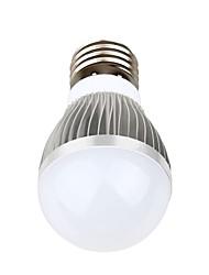 3 E26/E27 Ampoules Globe LED A60(A19) 3 LED Haute Puissance 270 lm Blanc Chaud / Blanc Naturel Décorative AC 85-265 V 1 pièce