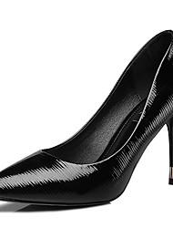Homme-Mariage / Décontracté / Soirée & Evénement-Noir / Blanc-Talon Aiguille-Talons-Chaussures à Talons-Synthétique