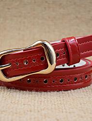 Mujer PU Cinturón de Cintura Vintage / Trabajo / Casual Todas las Temporadas