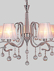 40 Chandelier ,  Modern/Contemporary Electroplated Feature for Crystal Metal Living Room Study Room/Office