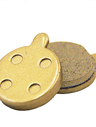 GEKOO Cycling Disc Brake Metal  Pads for Zoom/Xinlong with Steel