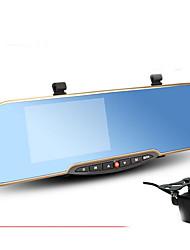 visão e estrada estrada autêntica E406 espelho retrovisor hd 1080p noite tela grande angular de 4,3 polegadas
