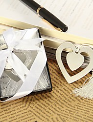 Love Story Metal Heart Shaped Bookmark With Tassel Wedding Favor Beter Gifts®