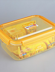 Yooyee Refrigertor Storage Box with Locking Lid