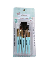 5 Makeup Brushes Set /Byfunme Dexterous Easy To Carry Makeup Tools Brush Set