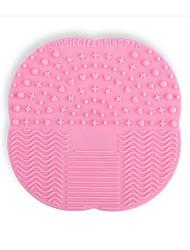 Патрон макияж кисти, чтобы очистить площадку уборщик мытья инструментов красоты макияж (случайный)