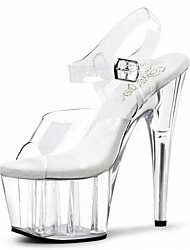 A nightclub stage catwalk shows Women's Heels Heels / Sandals PVC Wedding / Party & Evening / /Club banquet shoes