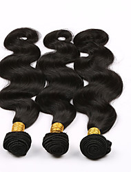 3 Bundles Lot 7a Brazilian Virgin Hair Body Wave 100% Human Hair Weaves Wavy Brazilian Body Wave