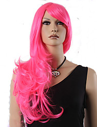 Popular Synthetic Hair Woman's Cosplay Wig Long Wavy Animated Rose Wigs
