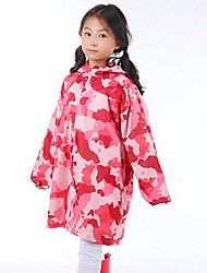 Pink Camouflage Children Raincoat