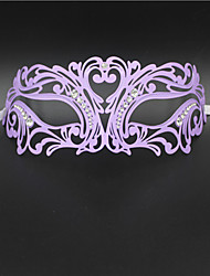 Luxury Masquerade Mask Venetian Laser Cut Metal Party Mask1005B1