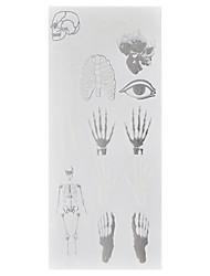 1 Tatouages Autocollants Séries de totem Non Toxic / Motif / Waterproof / Glow in the Dark / Metallic / FlashHomme / Adulte flash Tattoo