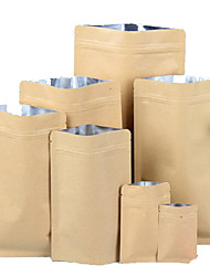 Multi-Standard High-Grade Aluminum Self-Sealing Bags  High-Grade Food Kraft Paper Bags  A Pack Of Ten