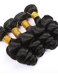 Brazilian Loose Wave Virgin Hair,Human hair 4pcs lot Grade 7A 100% unprocessed virgin hair