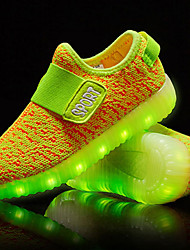 LED Light Up Shoes, Boy's Sneakers Spring / Summer / Fall / Winter Comfort Tulle Outdoor / Casual Flat Heel Others /