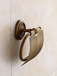Toilet Roll Holder  Toilet Paper Holder Antique Brass Wall Mounted