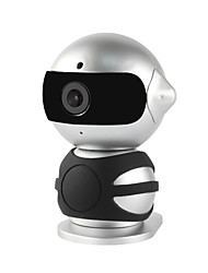YanSe® 1.3MP Robot Mini Indoor with Day Night HD WiFi IP Camera (Dual Stream / Remote Access / Plug and play)