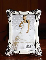 European Simple Diamond 6 Inch Photo Frame
