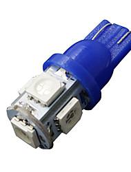 2 x ultra t10 blu 5 smd targa lampadine W5W 2825 158 192 168 194