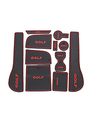 vw golf 7 / Slot mat pad / tazza pad / bracciolo / storage pad / car