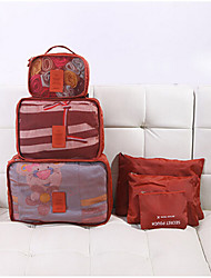 Home Travel Clothing Pack Bag Containing Six Sets