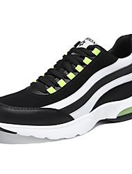 sapatos femininos primavera / / conforto de inverno sintética verão outono / calçados esportivos lace-up de corrida preto