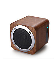 Wooden Wireless Bluetooth Car Speaker, Portable Mini Audio, Card Can Be Inserted