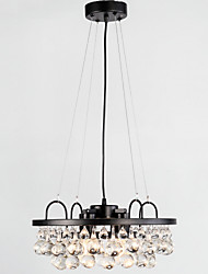 MAX:60W Pendant Light ,  Retro Painting Feature for Designers Metal Dining Room / Study Room/Office / Hallway