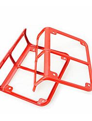 JK Rear Light Cover Light Box Protection Cover Red