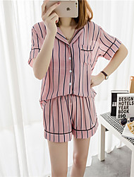 Women Silk Pajama Suit