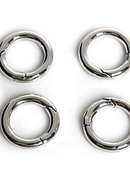 Hole Size 16mm Rhodiage 5 Pcs Bijoux