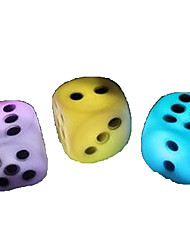 LED Colorful Dice Night Light Luminous Toy For Home