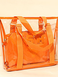 Women Plastic Casual / Shopping Shoulder Bag