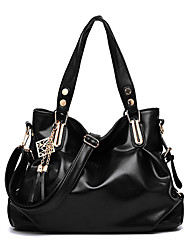 Women's Fashion Casual Vintage PU Leather Messenger Shoulder Bag/Totes