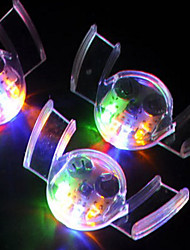Environmentally-Friendly Rubber Halloween Led Glow Braces