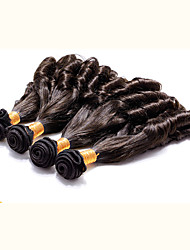 4pcs pelo virginal brasileño Fummi pelo 8-30 pulgadas humano brasileño del cabello humano natural negro