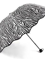 Gris Paraguas de Doblar Soleado y lluvioso textil Viaje / Lady / Hombre