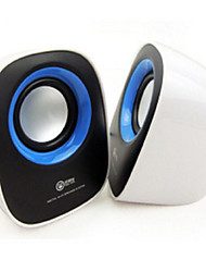 Notebook Computer Audio,USB 2 Small Speakers, Cute Mini Q Car Speakers