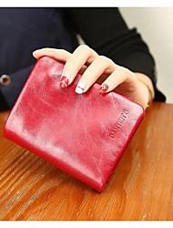Unisex Cowhide Casual Wallet