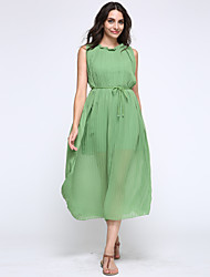 Women's Sexy/Beach/Casual/Party Sleeveless Maxi Dress