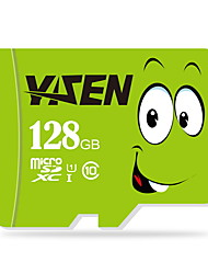 yisen 128GB UHS-I u1 / класс 10 MicroSD / MicroSDHC / microsdxc / tfmax чтения speed80 (Мб / с)