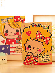 Notebooks criativas Multifuncional,A6