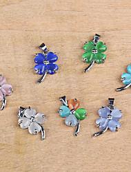 Women's Flower Pendant 1PC for Necklace Jewelry Random Color