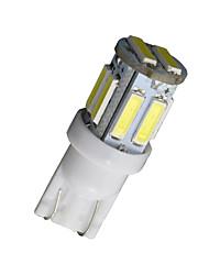 2pcs T10 W5W 192 168 194 7014 7020 10smd 10 lumières LED latérales à LED cale 12v