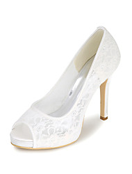 Women's Sandals Spring / Summer / Fall Peep Toe Synthetic Wedding / Party & Evening