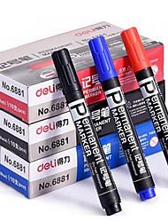 huile marqueur marque stylo marqueur tête de stylo une boîte de 3 couleurs