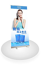 Roll Aluminum Shelf Poster Frame Billboard Display Screen Design 80X200