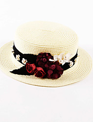 OUFULGA Handmade Sun Hat Holiday Beach Hat