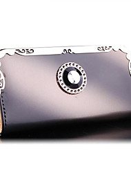Women Fashion Purse Women's Wallets Metal Long Design Clutch